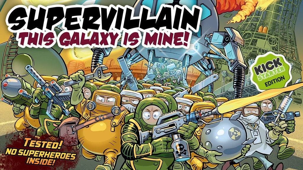 Supervillain. This Galaxy Is Mine! project video thumbnail