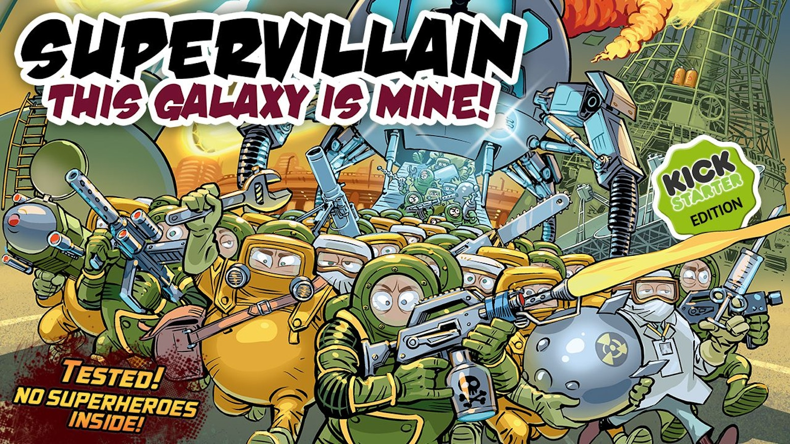 Supervillain  This Galaxy Is Mine! by Moroz Publishing