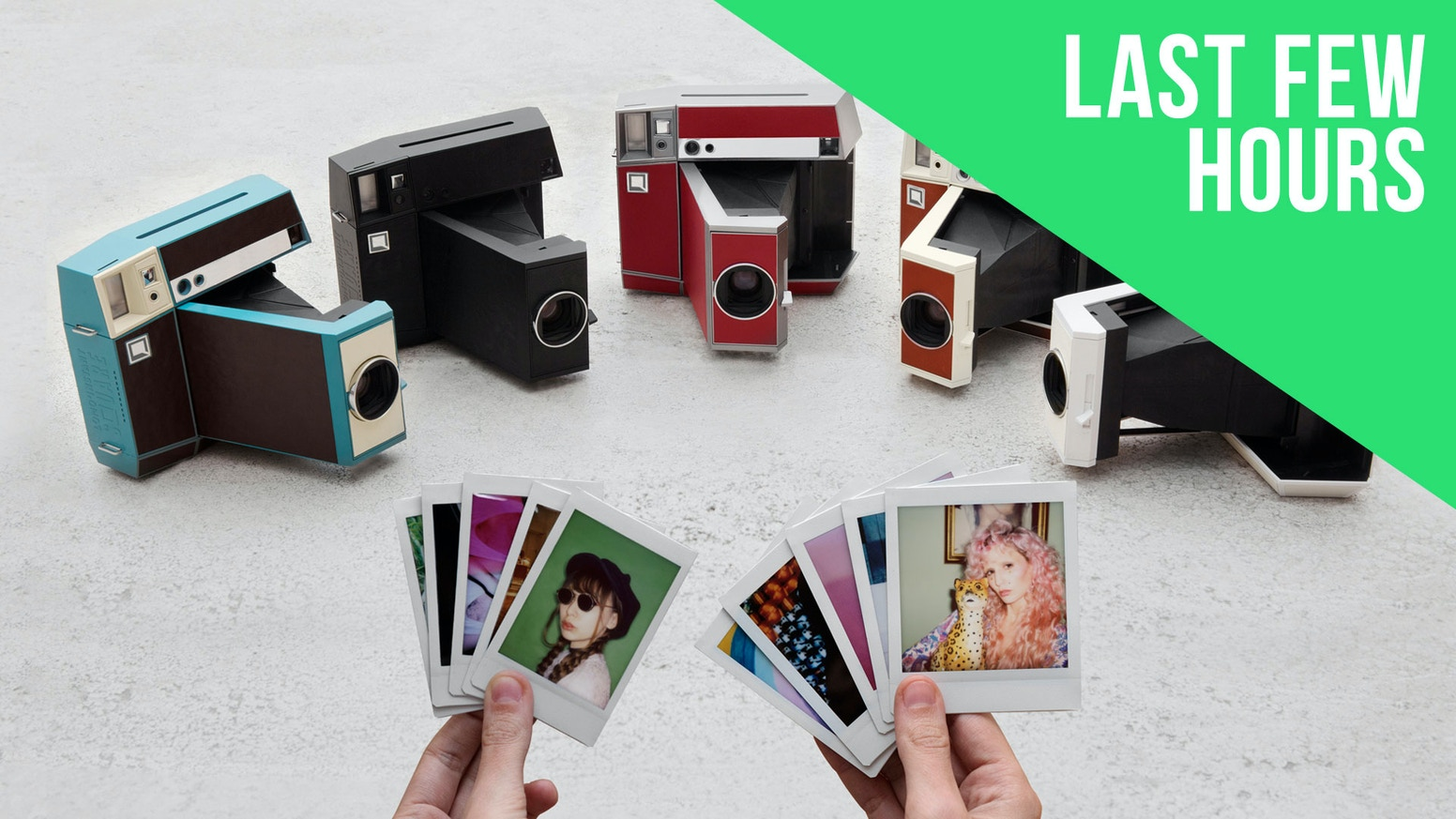 The first fully analogue instant camera for Instax square film – now a multi-format master!