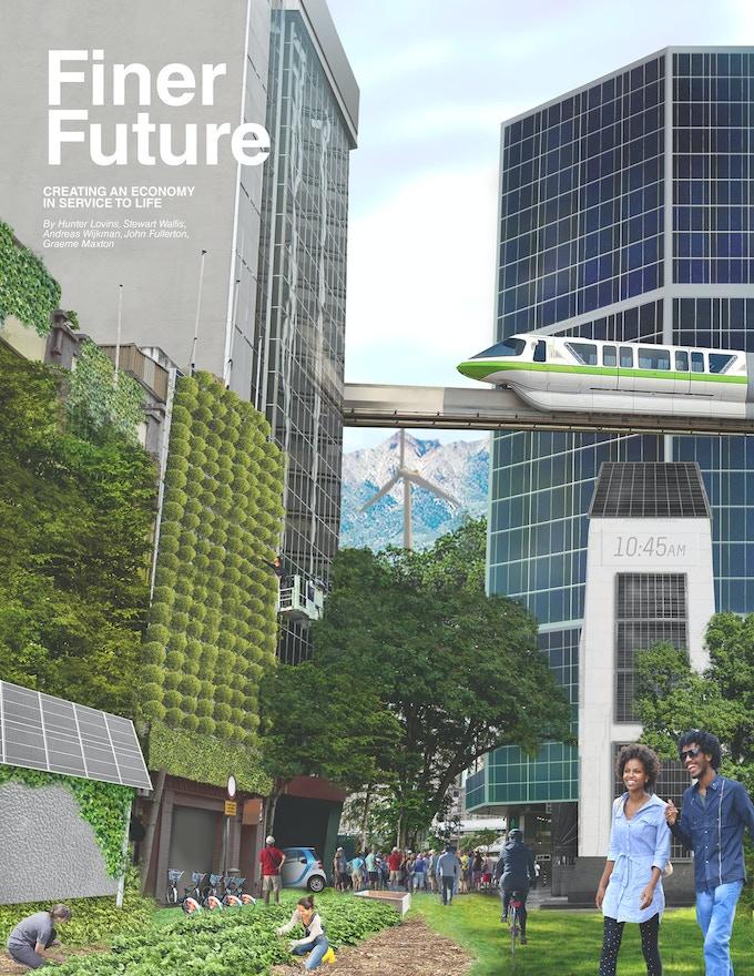 A Finer Future - Book Cover