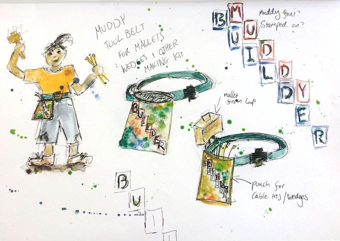 Children's tool belts