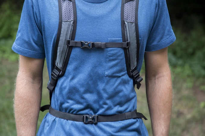The Adjustable Sternum and Waist Belt Secure Your Load and Minimize Bounce
