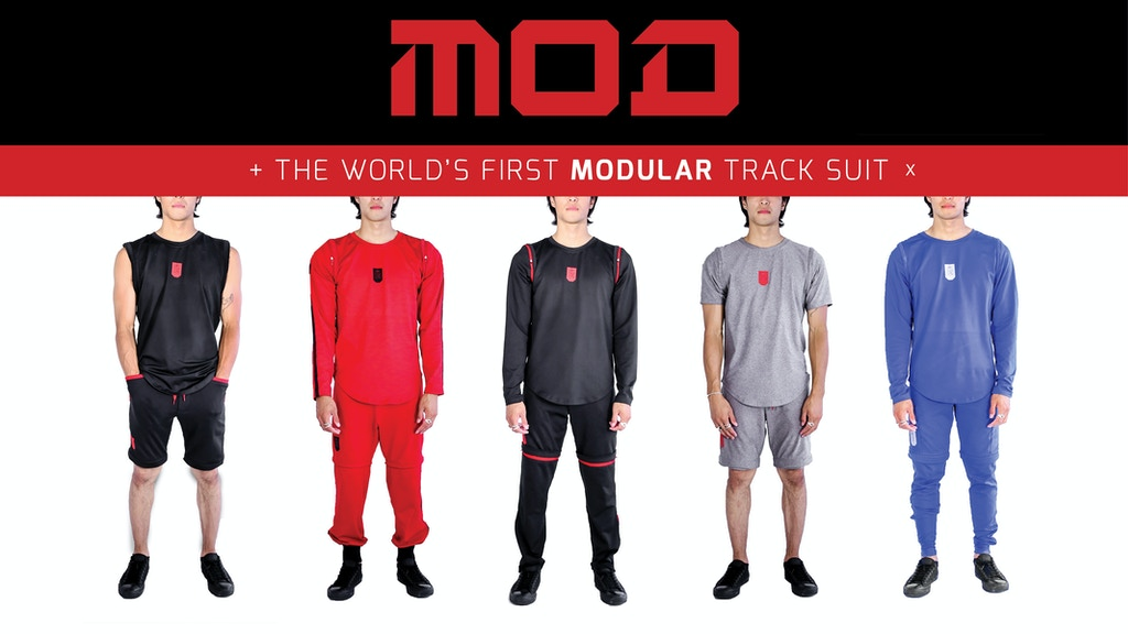 MOD: The World's First Modular Tracksuit project video thumbnail