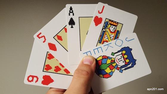 Pokeri -videopoker playing cards