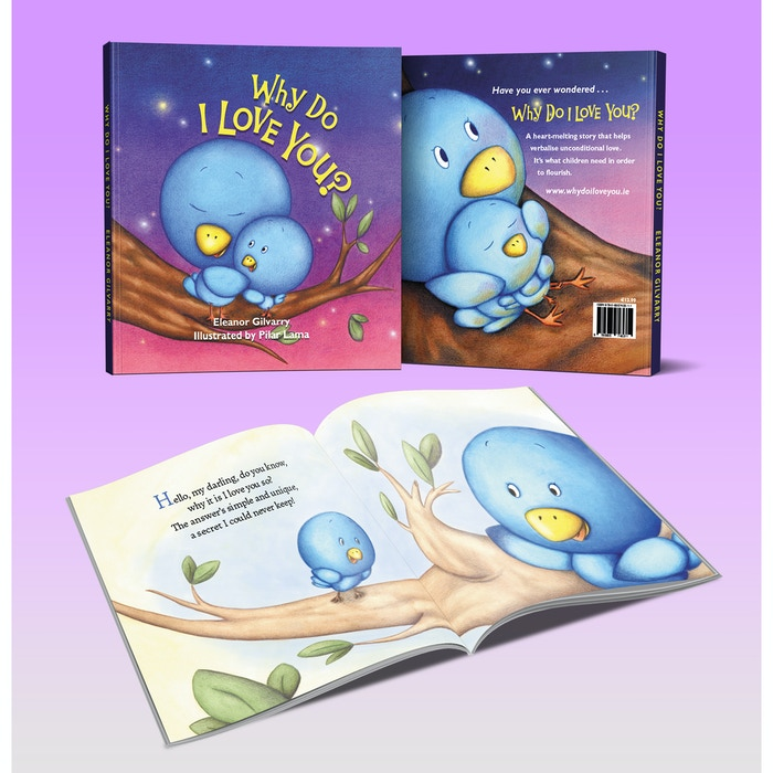 Heartfelt children's illustration book that helps parents verbalise unconditional love.  It's what children need in order to flourish.