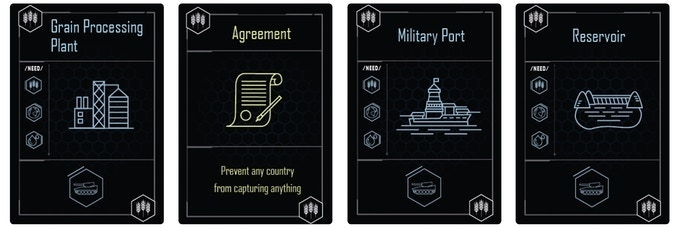 New Action & Building Cards