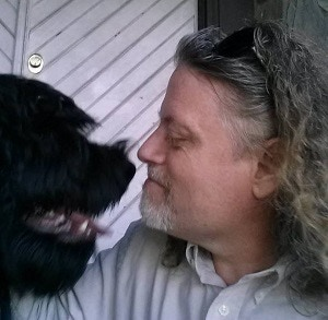 Our founder with one of his pets