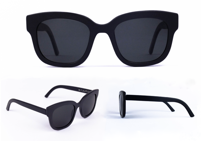 927351c8dcc World s first 3D printed sunglasses from plastic waste by Sebastiaan ...