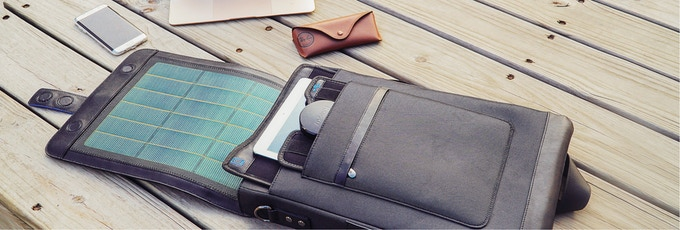 Moovy Bag keeps all your devices ready-to-go.