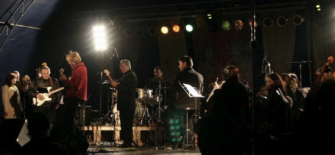 Paul Gabor and The Orchestras, live at the Pecs International Airport Inaugural Concert