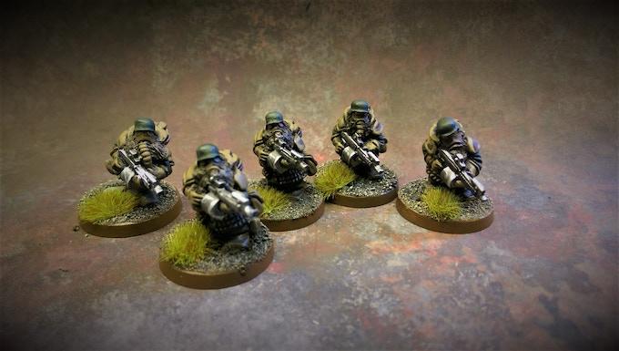 LoS Pack 5 Troopers
