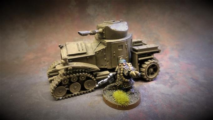 Armoured Car WIP