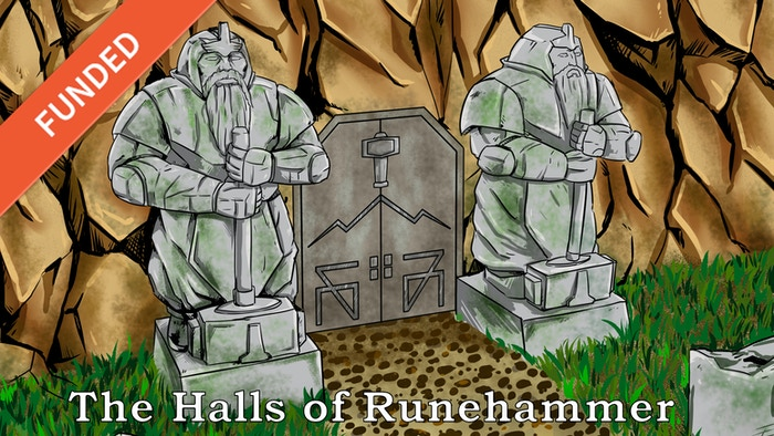 The Halls of Runehammer is a classic Dwarven Dungeon Crawl for 5E. Help reclaim the Halls of Runehammer and destroy the evil within.