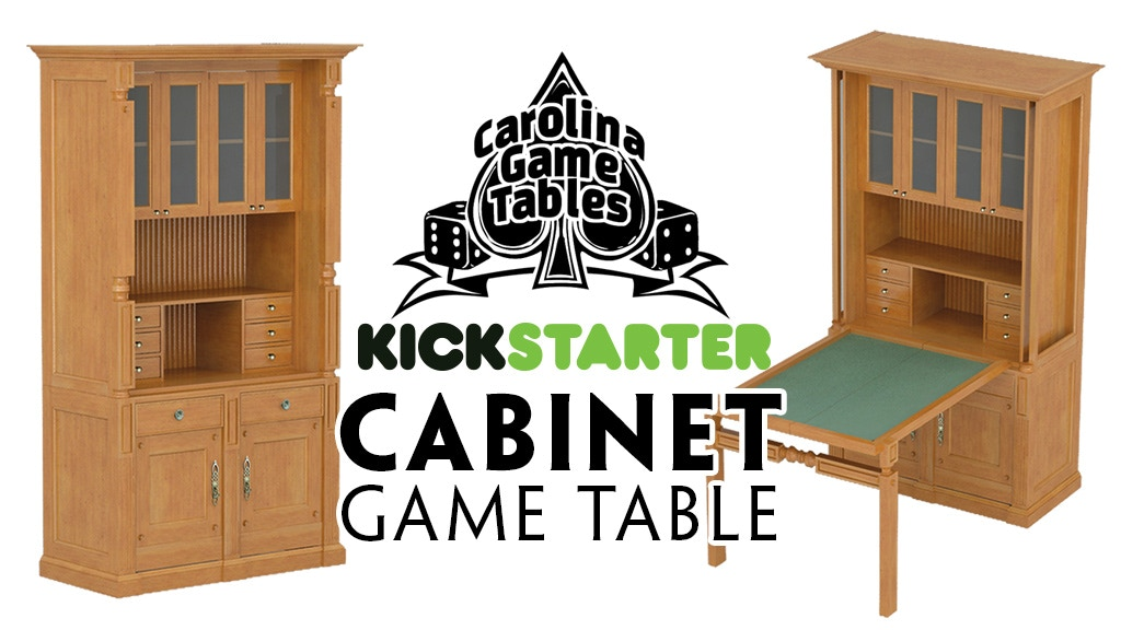 Cabinet Game Table from Carolina Game Tables