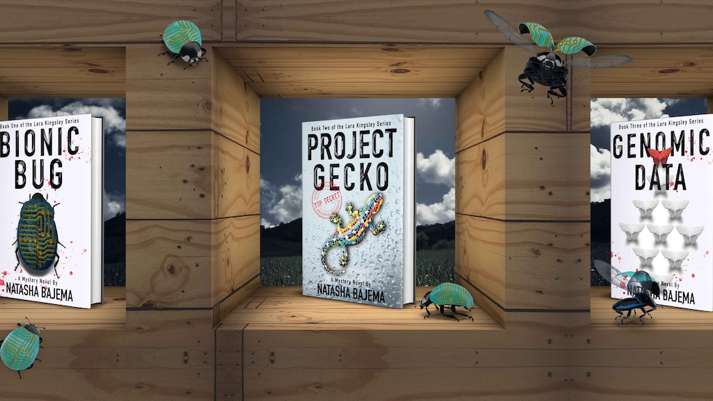 Project Gecko: A Crowdsourced Mystery Novel project video thumbnail