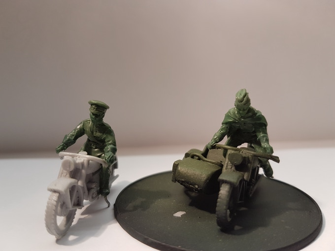 Male and female riders on first master casts