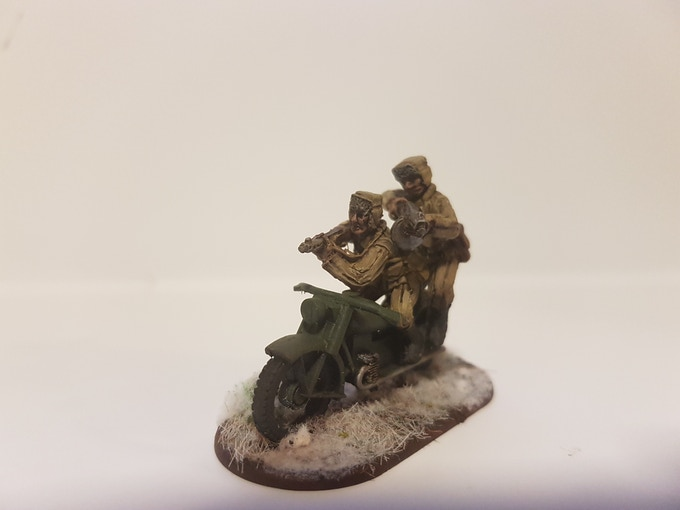 Painted Master casts