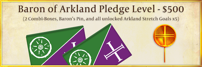 Each Baron of Arkland will be a real character in our story, growing your barony starting in Season 1.