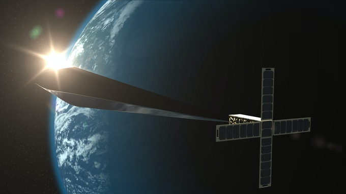 Digital Rendering of Orbital Reflector