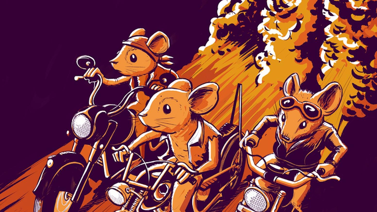Heavy Metal Thunder Mouse by Derek A. Kamal —Kickstarter