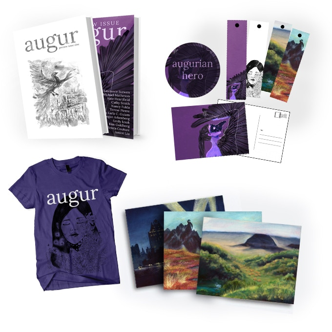 Your augur kickstarter swag!