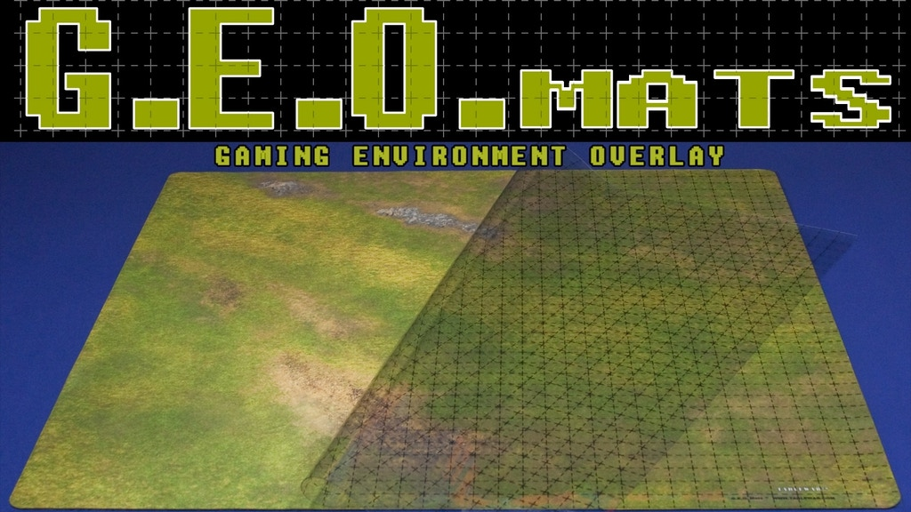 GEO Mats by TABLEWAR project video thumbnail