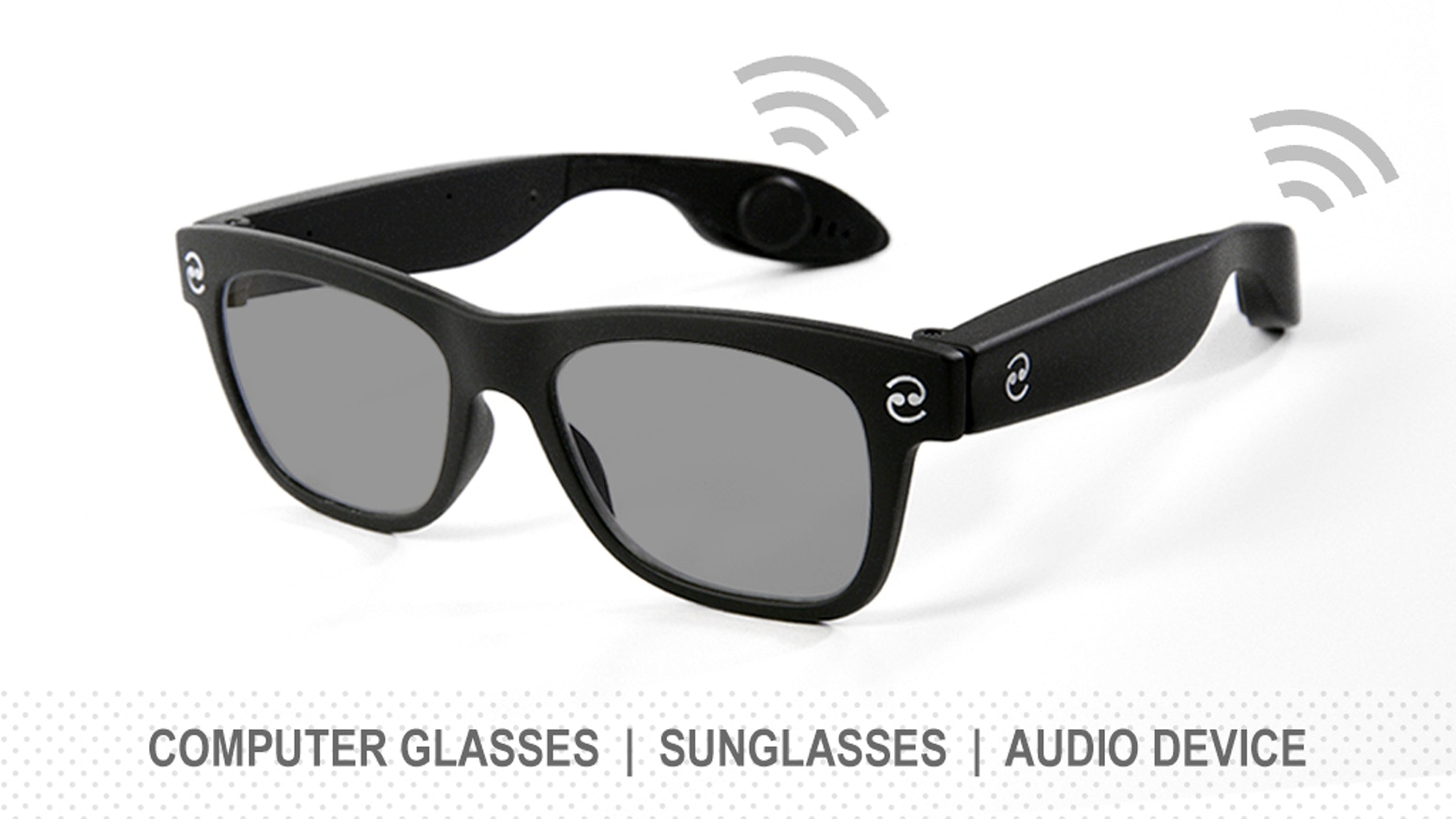 Revolutionary bone conducting glasses for both indoor and outdoor protection wear!