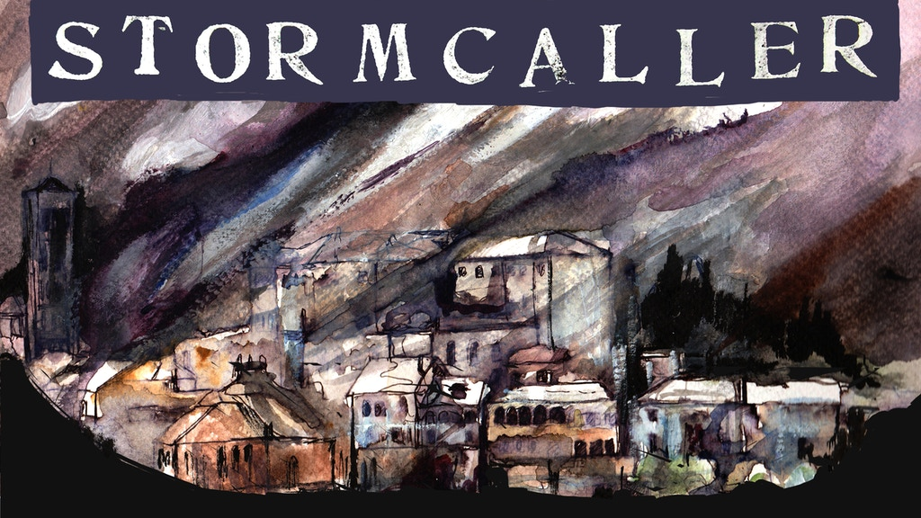 Stormcaller - Graphic Novel project video thumbnail