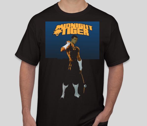 Midnight Tiger T-Shirt Mockup (NOT FINAL)