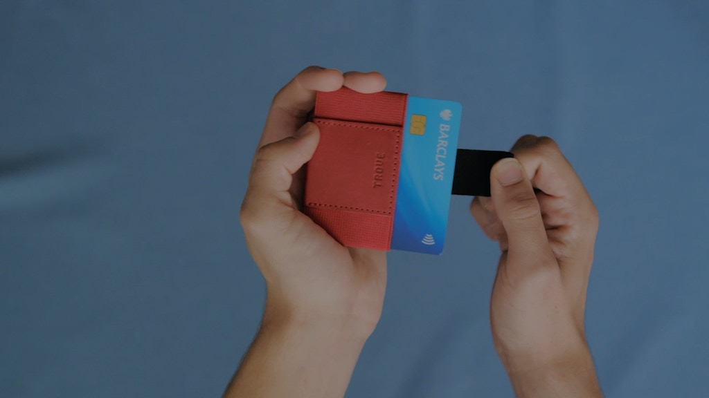 TROVE 2.0: The Swift - Slim Wallet & Card Case by TROVE project video thumbnail
