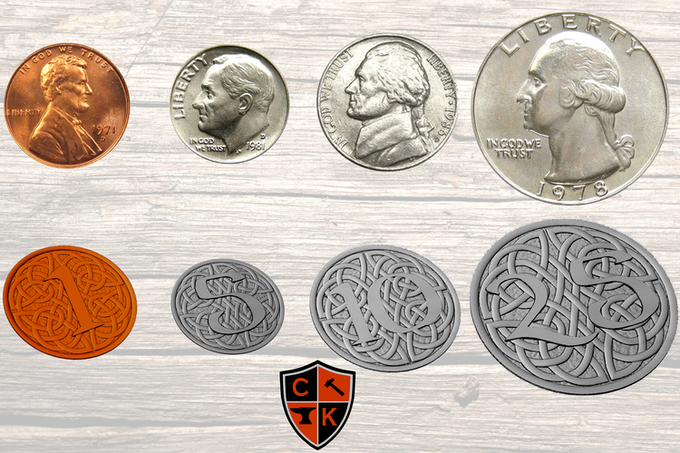 Comparison of Real Coins into Fantasy Coins