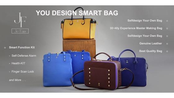 You Design Smart Bag