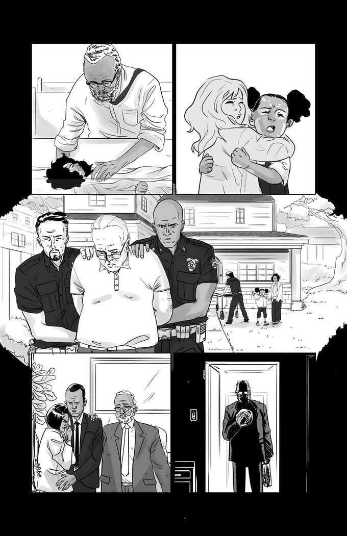 A page from Fabian Lelay and Vita Ayala's story. Help make this story happen by getting us to $25,000!
