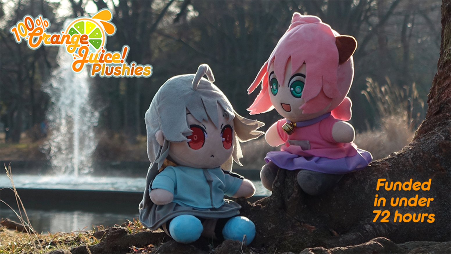 Orange Plushies are finally here! Fruitbat Factory is bringing you the cutest official Plush Toys from developer Orange Juice's games!