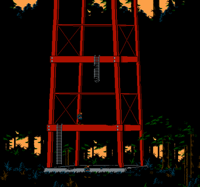 The Radio Tower - We plan to get vertical in this game in a big way!
