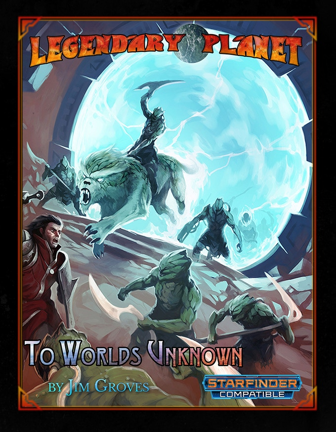 An awesome interplanetary adventure saga from 1st to 20th level!