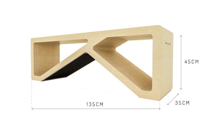 theHabit bench (light)