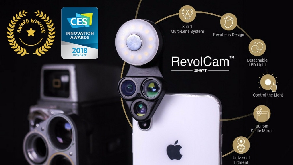 RevolCam: The Multi-Lens Photo Revolution for Smartphones project video thumbnail
