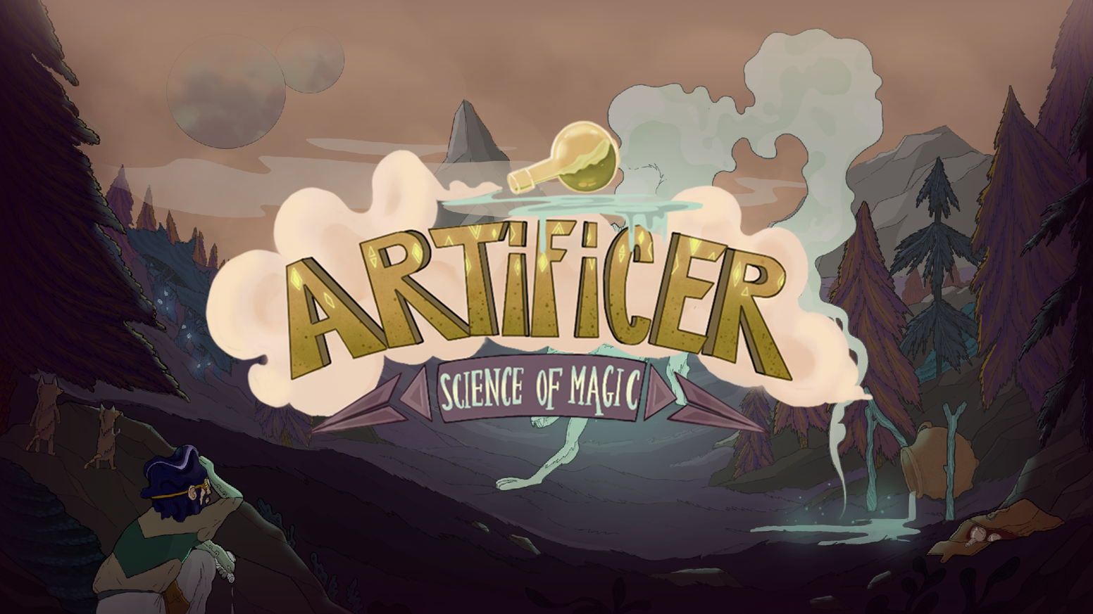Artificer - The science of magic by Psilocybe Games — Kickstarter