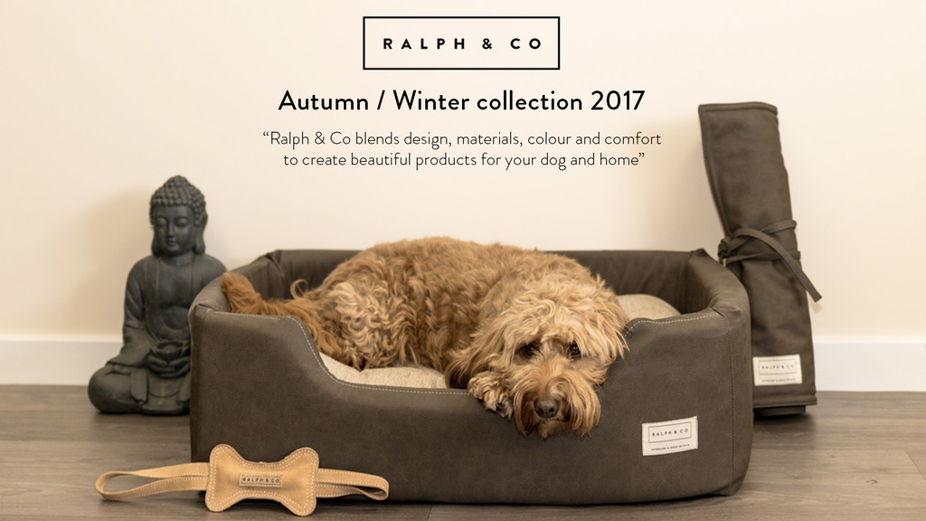 Ralph & Co - Premium dog beds, collars, leads & blankets project video thumbnail