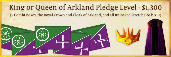 Through this pledge, you will be the first King or Queen of Arkland! You will begin Season 1 as the supreme leader of Arkland, responsible for choosing strategy for the entire faction.