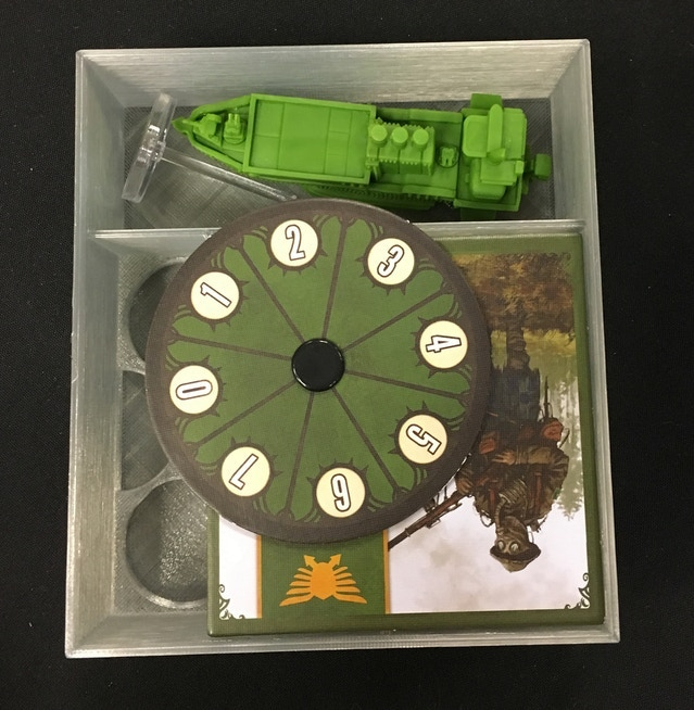 Prototype of Faction Box for airships