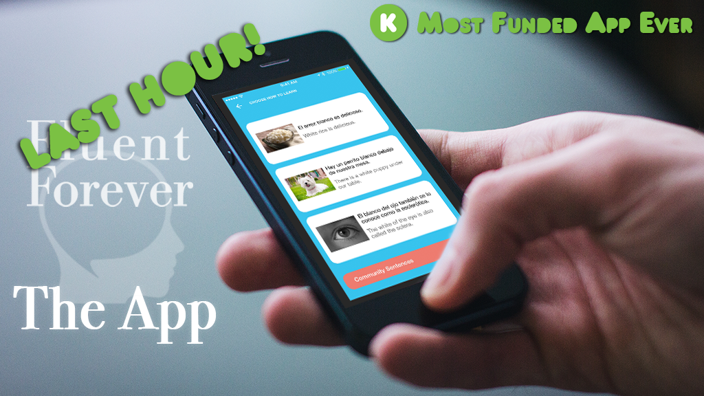 Fluent Forever, The App: Learn to *Think* in Any Language project video thumbnail
