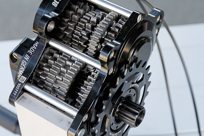 offenes P1.18 Getriebe