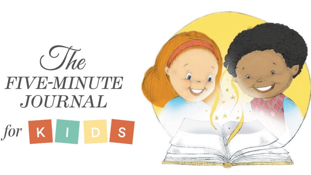 The Five Minute Journal for Kids - Develop Positive Thinking project video thumbnail