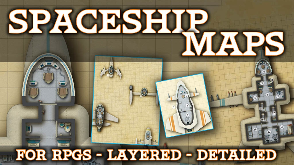 Spaceship Maps project video thumbnail