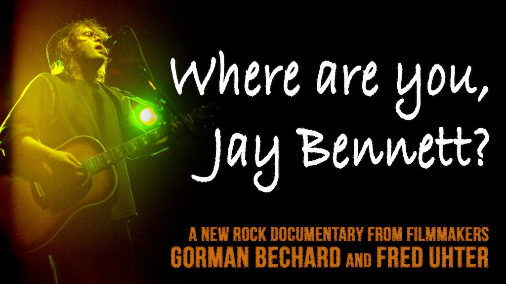 Where are you, Jay Bennett? project video thumbnail