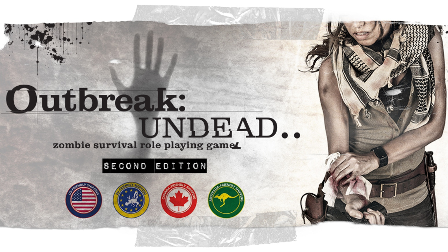 The 2nd edition to the cult Survival Horror RPG - Outbreak: Undead is here. Play Yourself as a Character and test your Survival Plan!