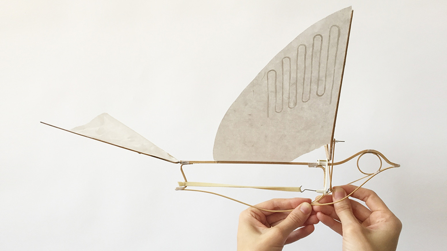 Resurrect a lost species with a wind-up flying passenger pigeon by Haptic Lab.