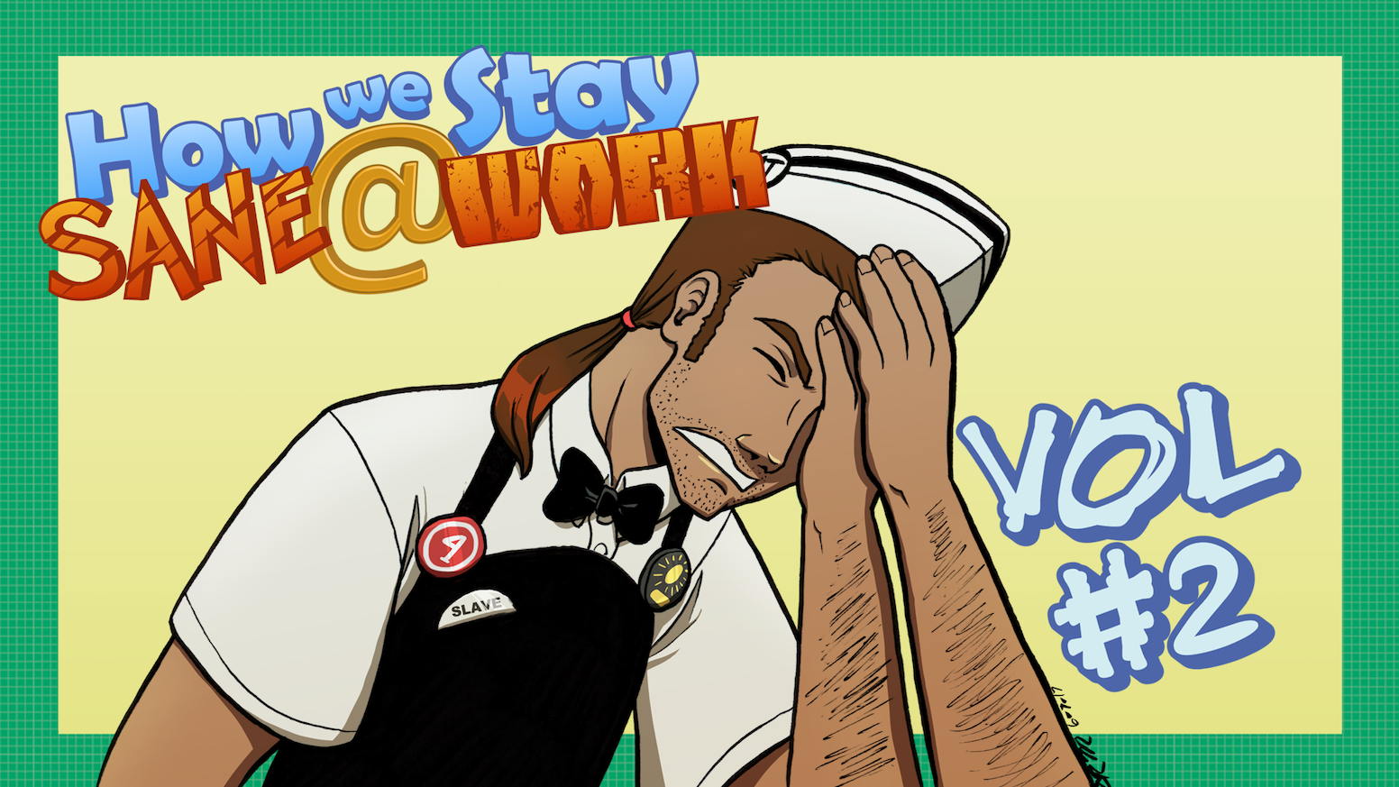 Final volume of the reader-fueled webcomic about bad jobs. Includes guest comics!